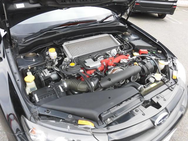 WRX STI Aライン 黒本革 スマートキー 4WD(19枚目)