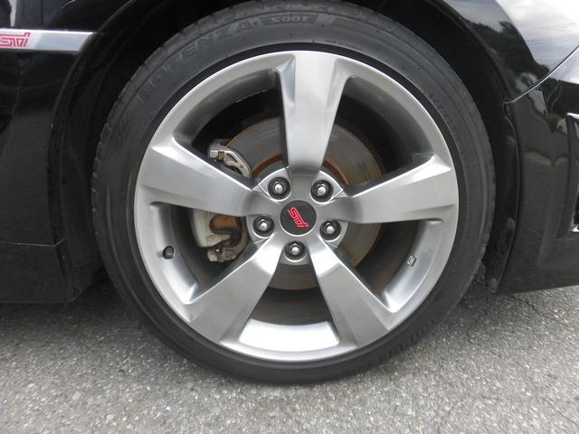 WRX STI Aライン 黒本革 スマートキー 4WD(20枚目)