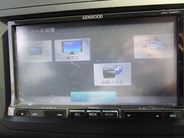 純正HDDナビ装備!CDの録音からDVDの再生までOK!TVも見られます!