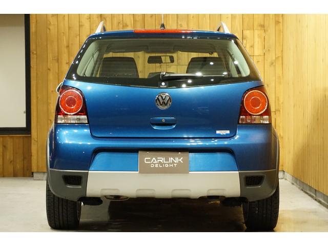 フォルクスワーゲン VW ポロ クロスポロ 禁煙車ワンオーナー HDDナビキーレス
