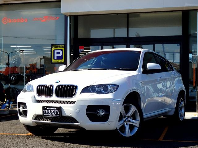 BMW BMW X6 xDrive 35i NEWi-drive ディーラー下取