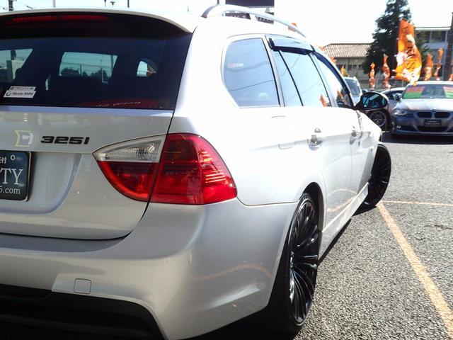BMW BMW 325iツーリング 6ヶ月保証 19AW エアロ HDDナビ