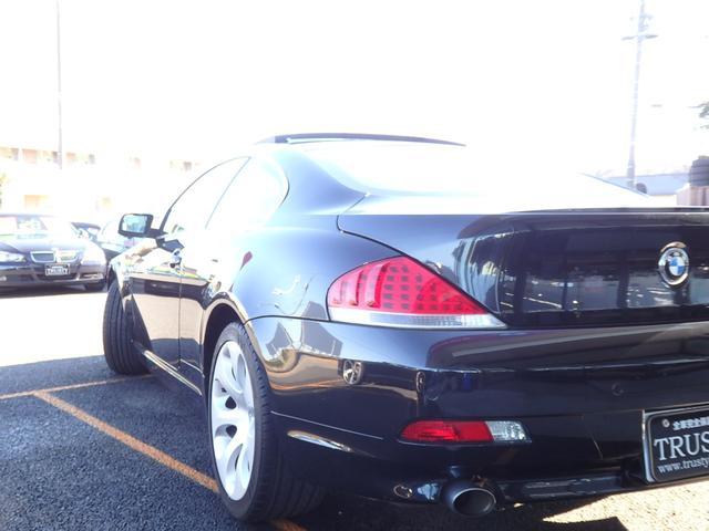 BMW BMW 650i 黒本革 右H SR PDC クルコン 6ヶ月保証有