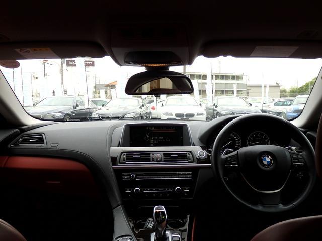 BMW BMW 640iグランクーペ1年保証 赤本革 19AW LEDライト