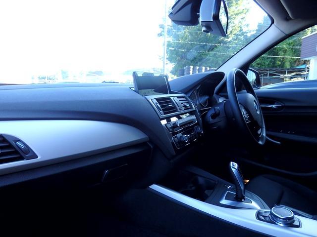 118i 1オーナー車 後期モデル パーキングサポートPKG 2ゾーンAC HDDナビ CD DVD MSV AUX USB ETC バックカメラ リアPDC スマートキー LEDヘッドライト 1年保証(21枚目)