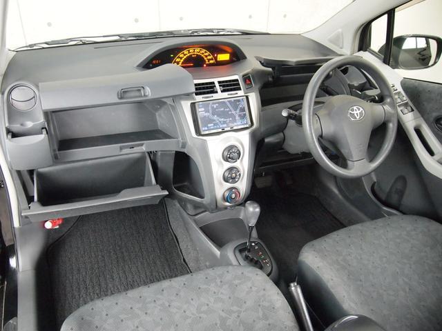 トヨタ ヴィッツ F 女性ワンオーナー 新車販売店管理車輛 HDDナビETC
