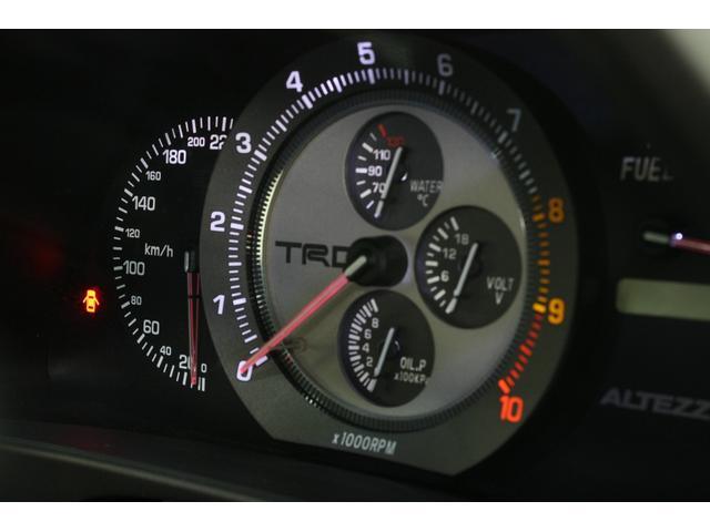 RS200 Zエディション 希少ボディカラー ダークグレー TRD製フルスケールメーター TEIN製フルタップ車高調 TEIN製フルタップ車高調 チタンマフラー AVS18インチ 純正OPヘッドライト(4枚目)
