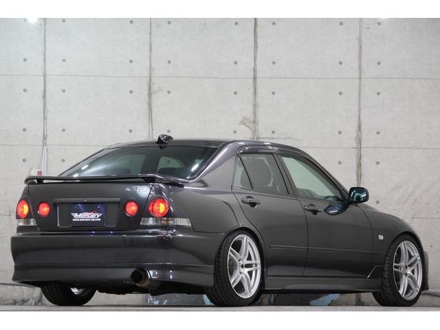 RS200 Zエディション 希少ボディカラー ダークグレー TRD製フルスケールメーター TEIN製フルタップ車高調 TEIN製フルタップ車高調 チタンマフラー AVS18インチ 純正OPヘッドライト(5枚目)