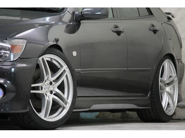 RS200 Zエディション 希少ボディカラー ダークグレー TRD製フルスケールメーター TEIN製フルタップ車高調 TEIN製フルタップ車高調 チタンマフラー AVS18インチ 純正OPヘッドライト(8枚目)