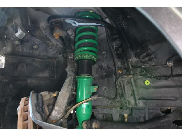 RS200 Zエディション 希少ボディカラー ダークグレー TRD製フルスケールメーター TEIN製フルタップ車高調 TEIN製フルタップ車高調 チタンマフラー AVS18インチ 純正OPヘッドライト(9枚目)
