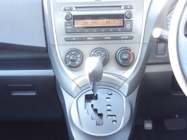 トヨタ ラクティス X ワンオーナー 禁煙車 キーレス 純正CDデッキ