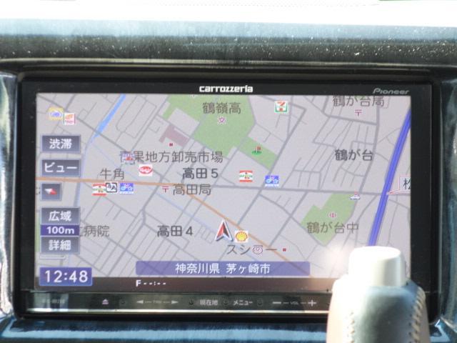 PZターボ 社外メモリーナビ フルセグテレビ パワースライド(10枚目)