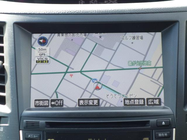 2.5i Sパッケージリミテッド 禁煙車 純正HDDナビ(10枚目)