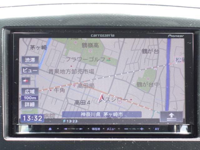 X 禁煙車 社外メモリーナビ 地デジTV スマートキー(10枚目)