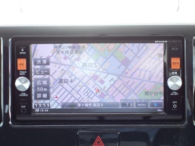 ライダーブラックライン 禁煙車 純正SDナビ フルセグTV(10枚目)