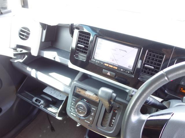X 禁煙車 純正SDナビ フルセグTV スマートキー ETC サイドバイザー アイドリングストップ オートエアコン Wエアバッグ ABS(13枚目)