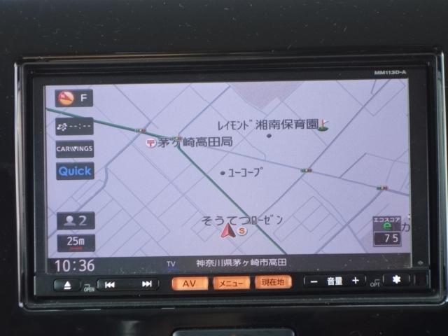 X 禁煙車 純正SDナビ フルセグTV スマートキー ETC サイドバイザー アイドリングストップ オートエアコン Wエアバッグ ABS(65枚目)
