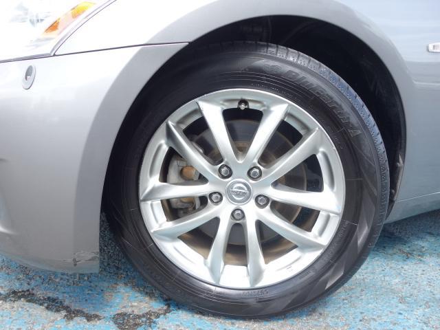 250GT 禁煙車 純正CDオーディオ CD再生 AUX接続 スマートキー ETC ハーフレザーシート パワーシート オートエアコン オートライト HIDヘッドライト 純正17インチアルミ(54枚目)