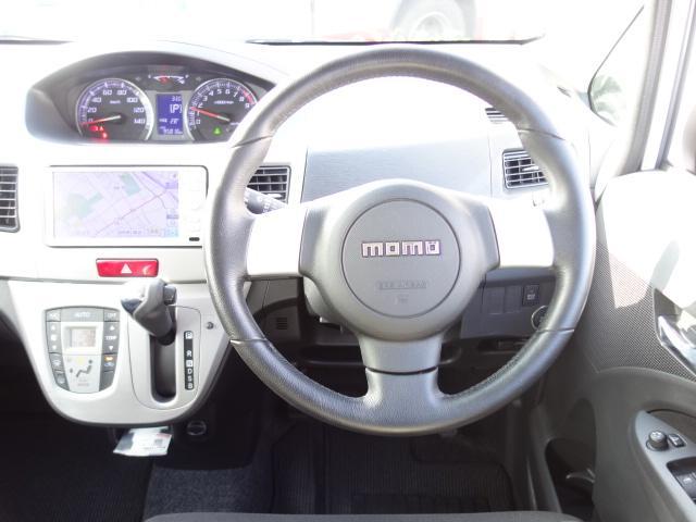 カスタム RS 禁煙車 純正SDナビ 地デジTV スマートキー ETC サイドバイザー 純正15インチアルミ オートエアコン オートライト HIDヘッドライト(14枚目)