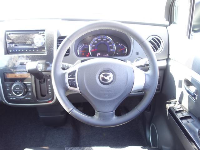 XT 社外CDデッキ CD・MD再生 AUX接続 スマートキー パドルシフト オートエアコン オートライト サイドバイザー Wエアバッグ ABS HIDヘッドライト 純正15インチアルミ(14枚目)