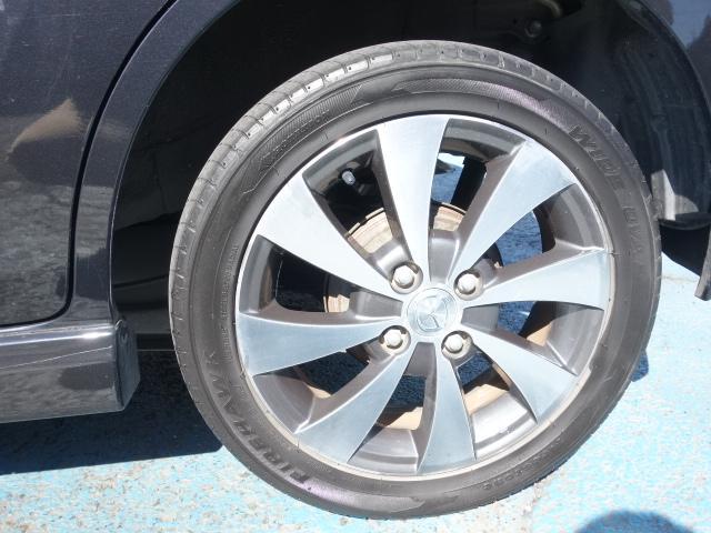 XT 社外CDデッキ CD・MD再生 AUX接続 スマートキー パドルシフト オートエアコン オートライト サイドバイザー Wエアバッグ ABS HIDヘッドライト 純正15インチアルミ(26枚目)