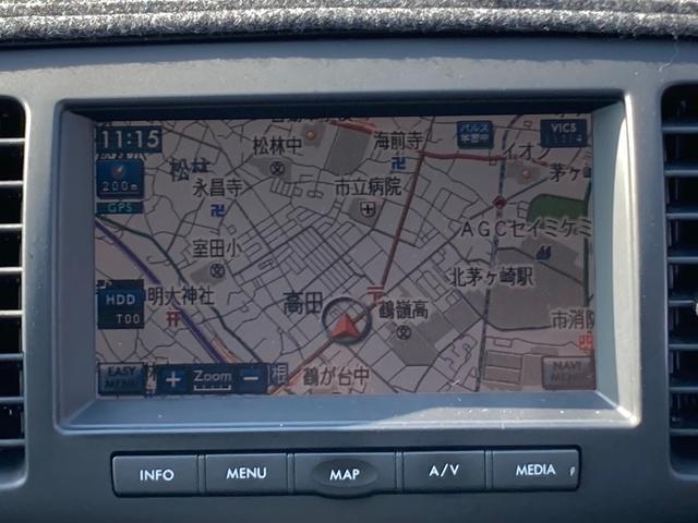2.5i スマートセレクション 純正HDDナビ CD・DVD・MD再生 録音機能 キーレス ETC オートエアコン Wエアバッグ ABS 社外17インチアルミ HIDヘッドライト パワーシート(11枚目)