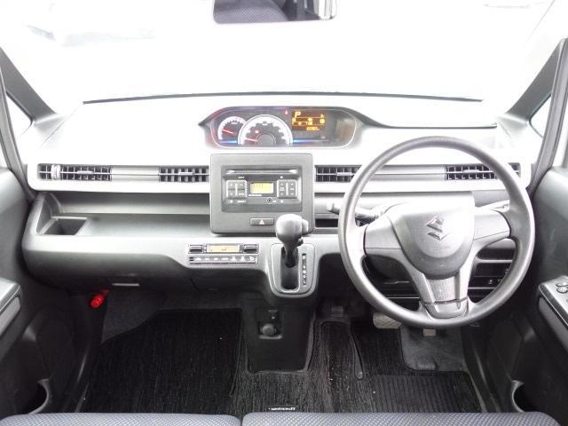 ハイブリッドFX 純正CDオーディオ AUX接続 キーレス アイドリングストップ シートヒーター サイドバイザー オートエアコン Wエアバッグ ABS(10枚目)
