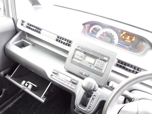 ハイブリッドFX 純正CDオーディオ AUX接続 キーレス アイドリングストップ シートヒーター サイドバイザー オートエアコン Wエアバッグ ABS(13枚目)