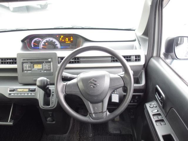 ハイブリッドFX 純正CDオーディオ AUX接続 キーレス アイドリングストップ シートヒーター サイドバイザー オートエアコン Wエアバッグ ABS(14枚目)