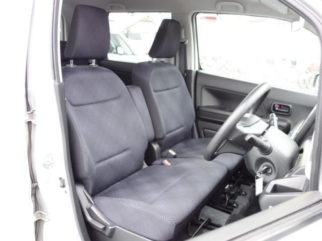 ハイブリッドFX 純正CDオーディオ AUX接続 キーレス アイドリングストップ シートヒーター サイドバイザー オートエアコン Wエアバッグ ABS(15枚目)
