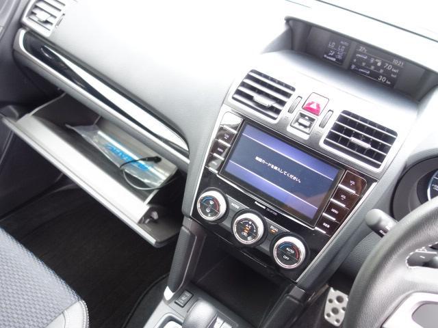S-リミテッド ハーフレザーシート ワンーオーナー 禁煙車 純正SDナビ Bluetooth対応 フルセグTV スマートキー ETC バックカメラ クルーズコントロール パドルシフト アイドリングストップ アイサイト(13枚目)
