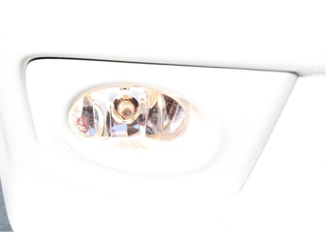 フォグライトも装備足元もしっかりお照らします。