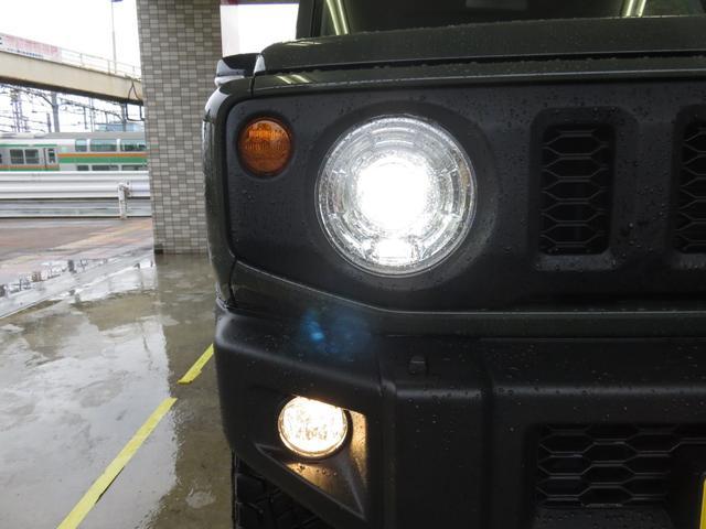 ★明るいLEDヘッドライトを装備★フロントフォグライトも装備しています★