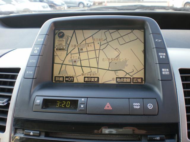 トヨタ プリウス S 86純正AW 純正HDDナビバックモニター ETC