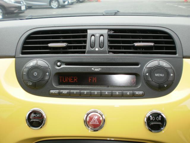 フィアット フィアット 500 1.4 16V ラウンジ ガラスルーフ ワンオーナー車