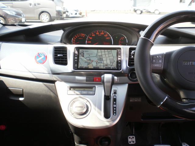 カスタム RS ターボ4WD HDDナビTV スポルザエアロ(9枚目)