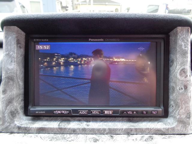 ホンダ エリシオン Gエアロ カスタム内装 20AW ローダウン HDDナビTV