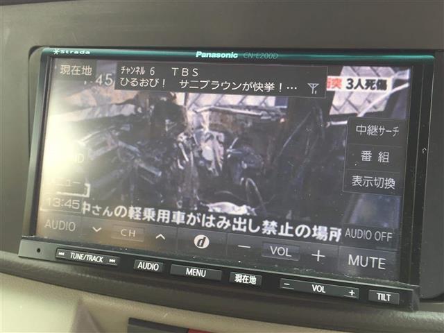 カスタム ターボ RS リミテッド 社外メモリナビ パワスラ(8枚目)