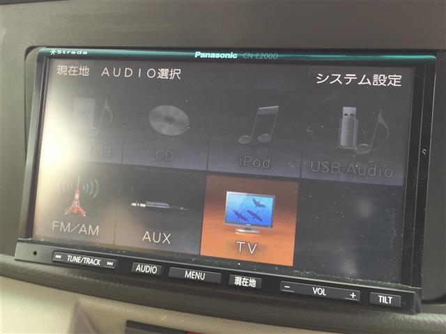 カスタム ターボ RS リミテッド 社外メモリナビ パワスラ(9枚目)