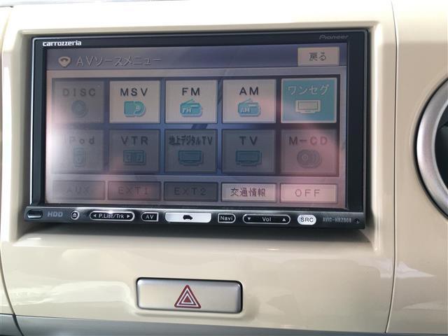 スズキ アルトラパン X 社外HDDナビ ワンセグ スマートキー ETC 純正AW
