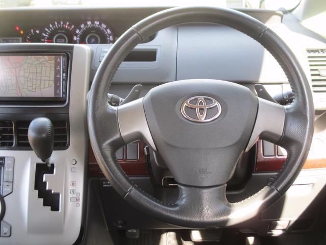 トヨタ ヴォクシー ZS禁煙車HIDフルエアロPスライドHDDナビTVフリップM