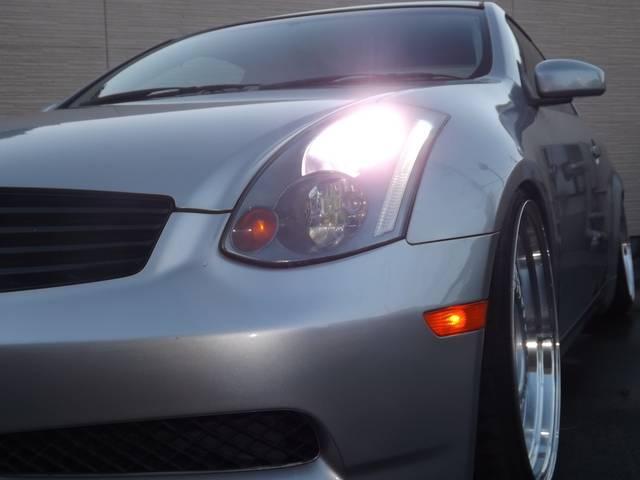 日産 スカイライン 350GT 車高調 6MT 社外マフラー キセノン