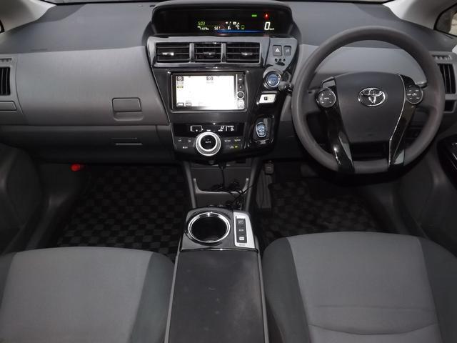 トヨタ プリウスアルファ S ワンオーナー HDDナビ タナベ車高調 ノブレッセエアロ