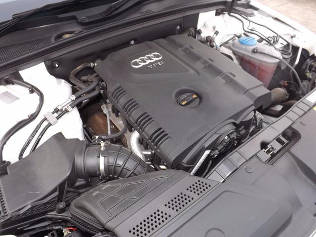アウディ アウディ A4アバント 2.0TFSI 本革シート 純正HDDナビ シートヒーター