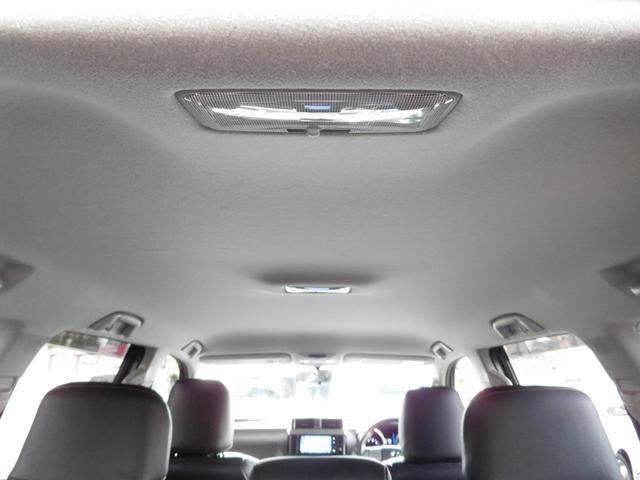 トヨタ ランドクルーザープラド TX 7人乗り LEDヘッドライト ルーフレール 純正ナビ