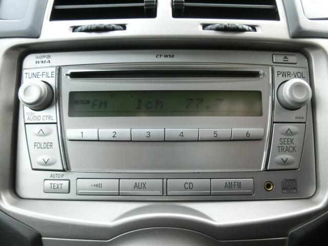 トヨタ ヴィッツ キーレス ETC 純正CD