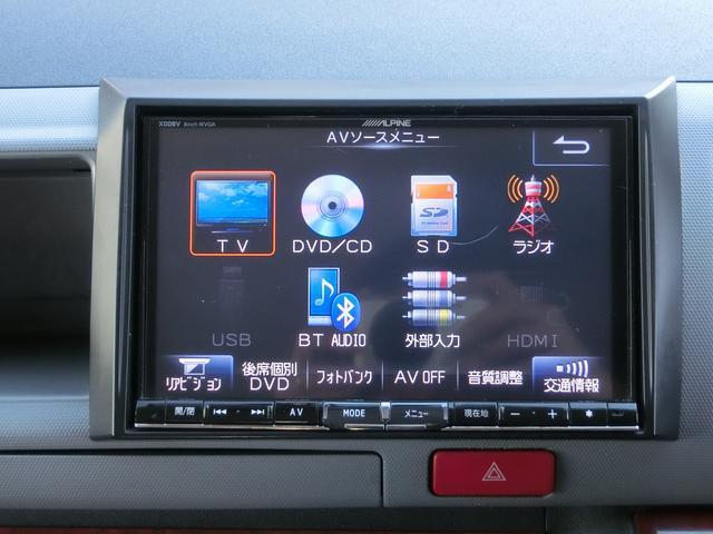 トヨタ ハイエースワゴン 10人乗り 社外ナビ・TV Bモニター ETC 18アルミ