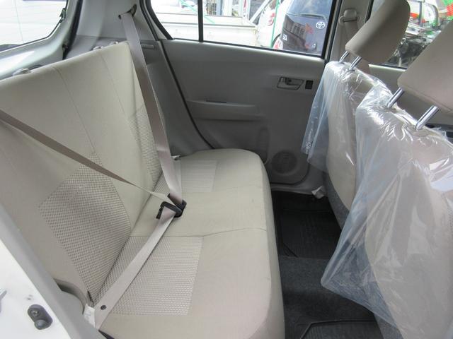 ☆後席リアシートもこんなに綺麗!☆小さく見えるミライースですが後席も足元広々で大人4人がご乗車しても窮屈さは感じません。
