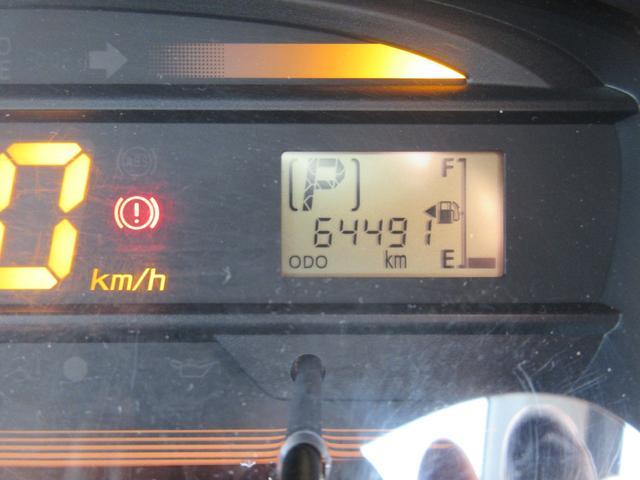 ☆実走行〜64491キロ☆入庫時走行管理システムにてメーター距離チェック済みで安心。