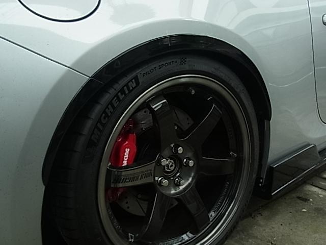 GT HKS車高調 TE37SL 18.9.5.48 ニュル(6枚目)